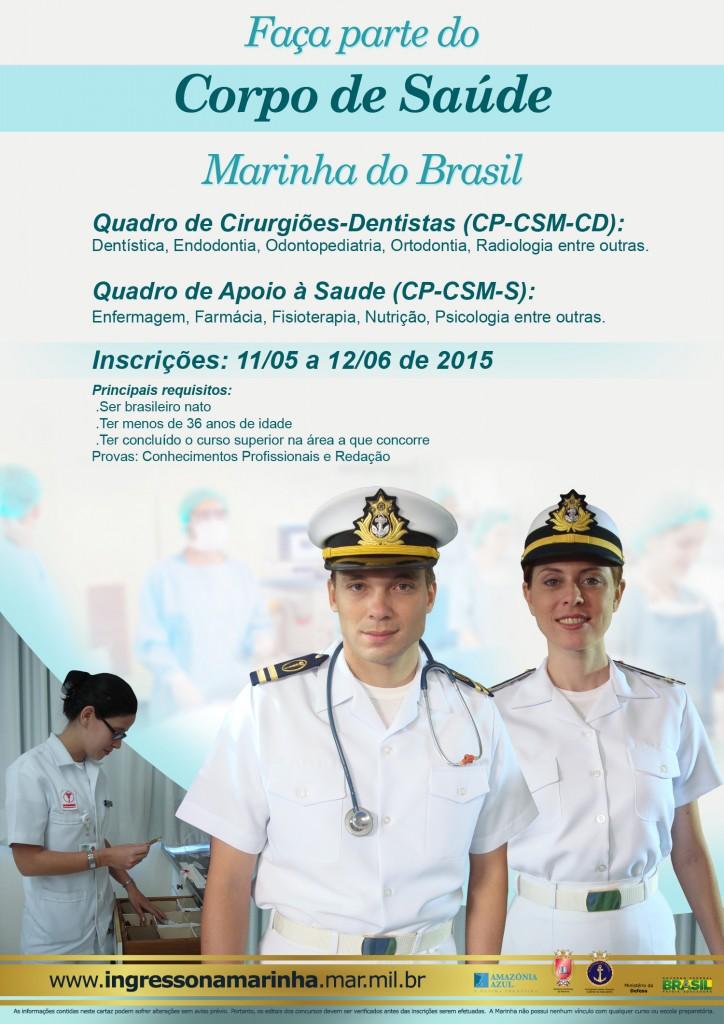 Apoio a Saude concurso marinha 1