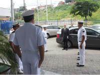 Recepção, na CPCE, ao Contra-Almirante (RM1) Eric Barbosa