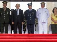 Cerimônia em comemoração pelos 70 anos do Dia da Vitória realizada no Rio de Janeiro