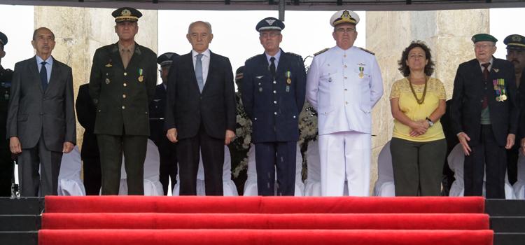Cerimônia no Rio de Janeiro marca os 70 anos do Dia da Vitória