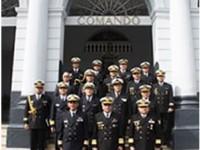 CAMAS e comitiva em passagem pela Armada Paraguaia