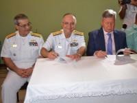 Vice-Almirante Zamith, Vice-Almirante Savio e o Prefeito de Manaus