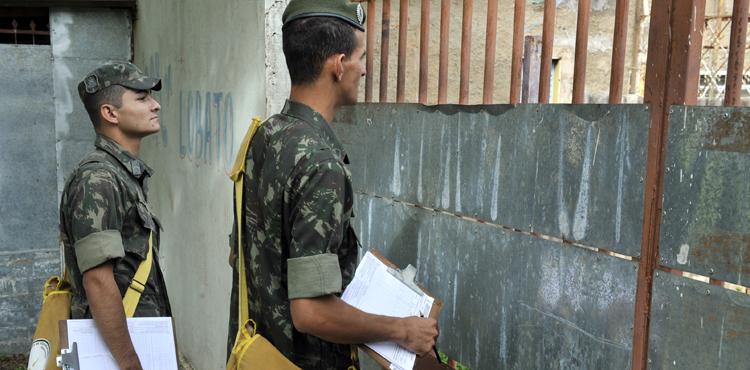Mais de 800 militares do Exército auxiliam no combate à dengue em São Paulo