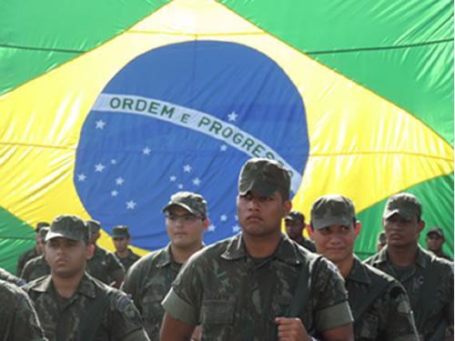Fuzileiros Navais de Belém vão atuar, pela segunda vez, no Complexo de favelas da Maré no Rio de Janeiro (RJ)