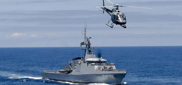 Marinha participa de operação internacional para capacitar países africanos no patrulhamento do Golfo da Guiné
