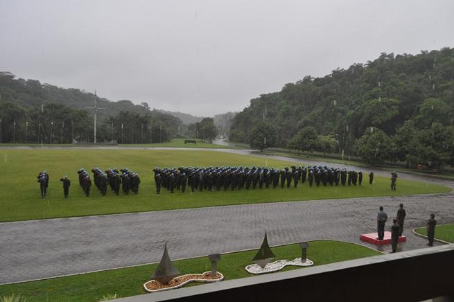 Marinha realiza Cerimônia de Ativação do 22° Contingente do Grupamento Operativo de Fuzileiros Navais – Haiti