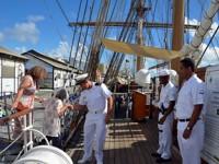 Mais de quatro mil pessoas passaram pelo Navio nos dois dias em que ficou aberto à visitação pública