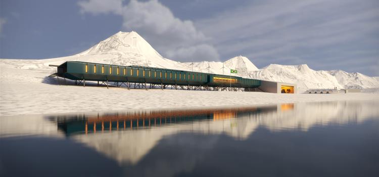 Projeto da Futura Estação Antártica Comandante Ferraz (EAFC).