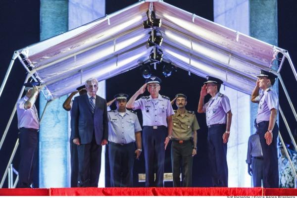 Cerimônia homenageia heróis da FAB na Segunda Guerra Mundial
