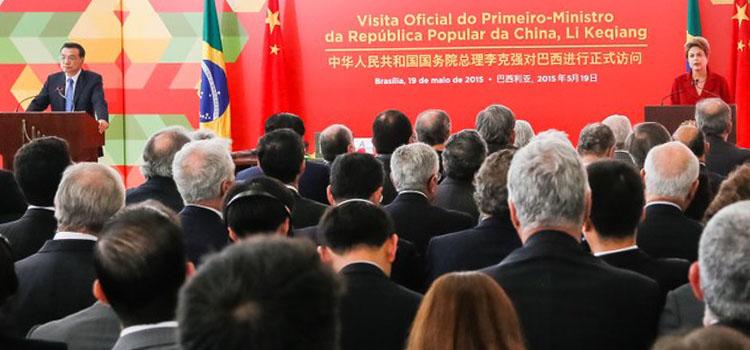 Brasil e China vão constituir grupo de trabalho para discutir projetos de sensoriamento remoto, telecomunicações e tecnologia da informação