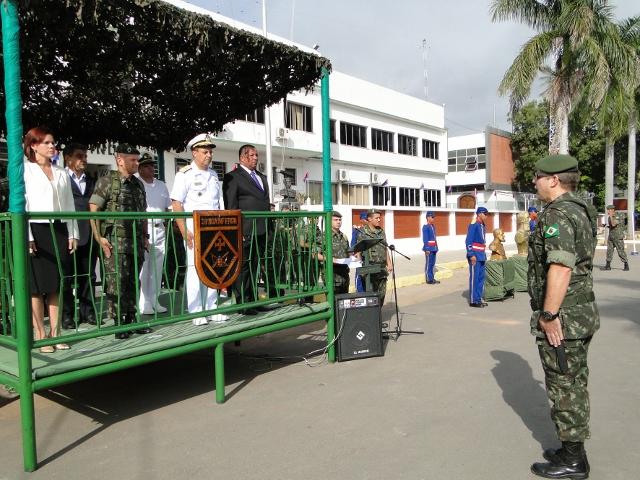 Comemorações do 69º aniversário da 18ª Brigada de Infantaria de Fronteira