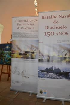 Comando do 2º Distrito Naval realiza exposição sobre Batalha Naval do Riachuelo no Museu Náutico da Bahia