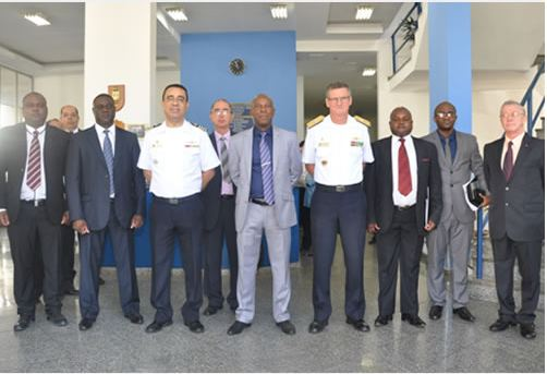 Comitiva da Marinha da Namíbia visita o Arsenal de Marinha do Rio de Janeiro