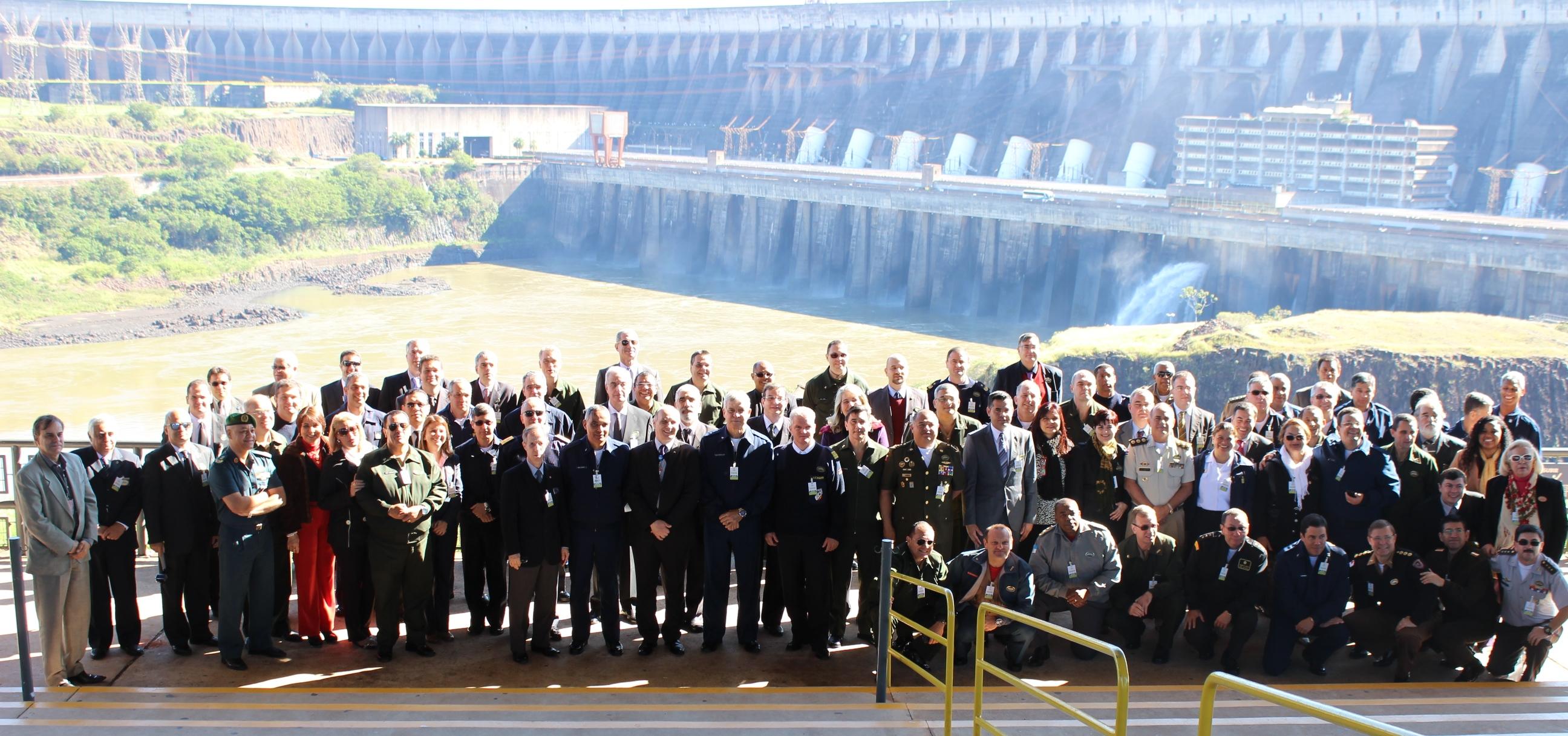 CAEPE Visita Hidrelétrica de Itaipu Binacional