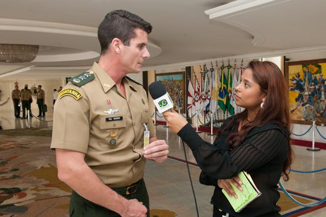 Exército realiza Estágio para Correspondente de Assuntos Militares – 2015