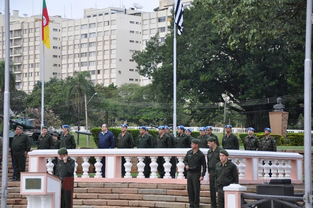 Dia Internacional dos Peacekeepers é comemorado na EsPCEx
