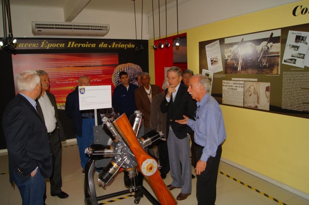 """Turma da Sucata"" no Museu Aeroespacial"