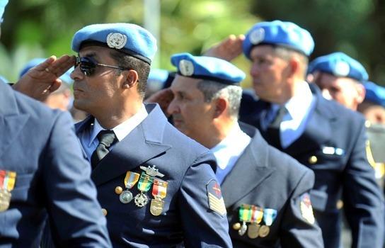 Assista à homenagem aos mantenedores da paz