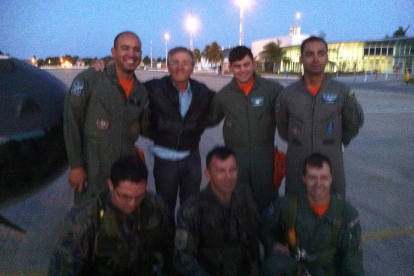 Confira a história do pecuarista salvo pelo Esquadrão Pelicano