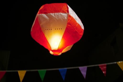 Perigo de acidentes com balões aumenta no mês de junho