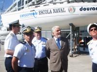 Wagner visitou as instalações da Escola Naval