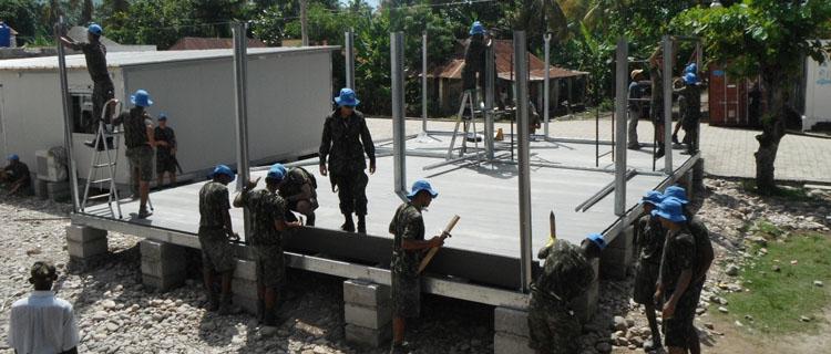 Companhia Brasileira de Engenharia de Força de Paz completa uma década no Haiti