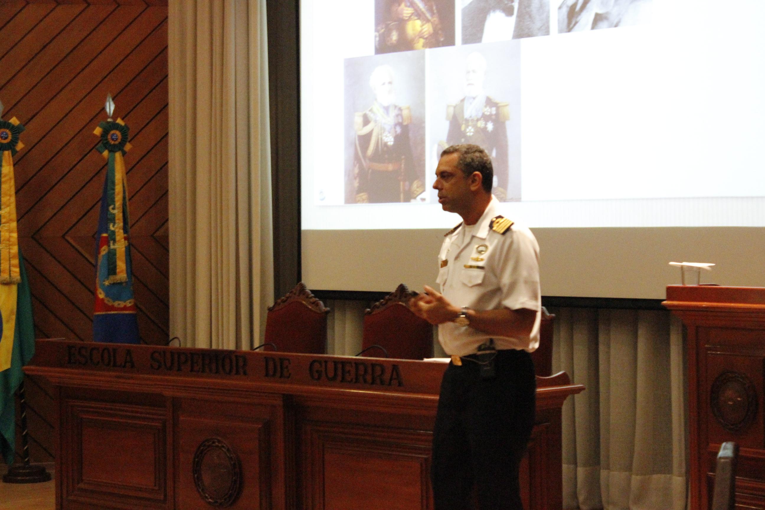 ESG Comemora Data Magna Da Marinha (Batalha Naval do Riachuelo)