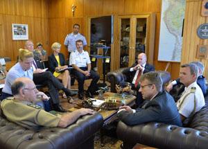 De Nardi falou em futuras oportunidades de cooperação.