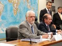 Ministro participa de audiência pública no Senado Federal