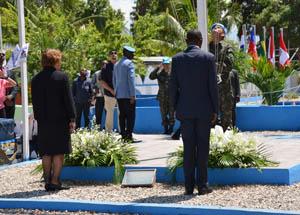 Dia do Peacekeeper é comemorado no batalhão brasileiro no Haiti