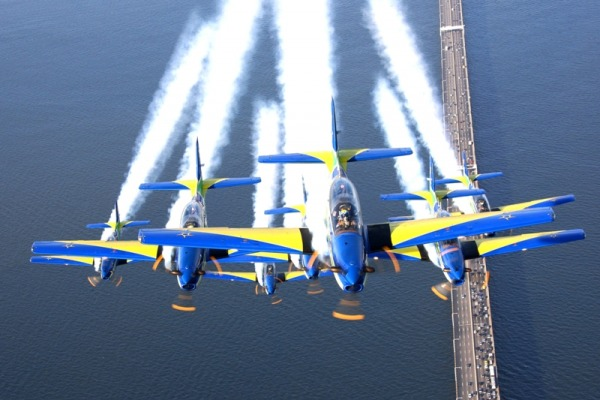 Vídeo conta histórias e bastidores do Esquadrão de Demonstração Aérea da FAB