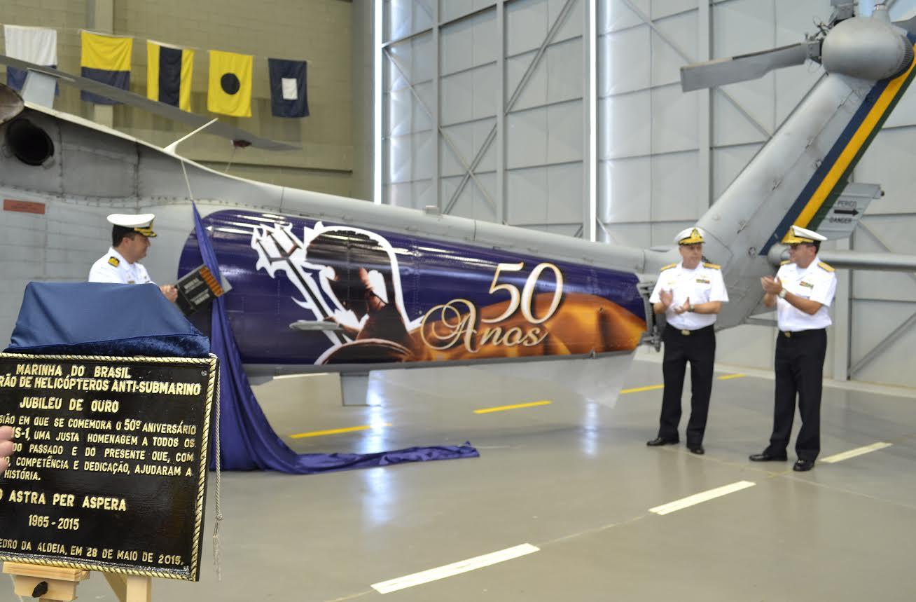 50° aniversário do 1º Esquadrão de Helicópteros Anti-submarino