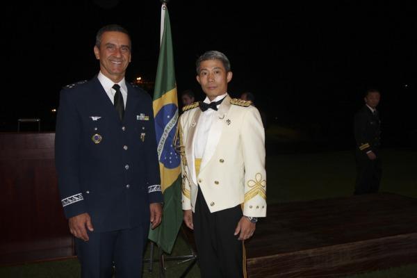 Adidos e militares das Forças Armadas celebram Dia das Forças de Autodefesa do Japão