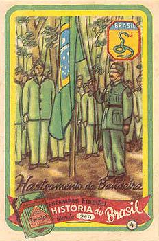 Dia em que a Bandeira Nacional foi hasteada pela primeira vez em solo Europeu, durante a Segunda Guerra Mundial