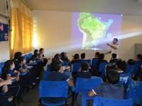 Palestra na Escola Estadual Almirante Ernesto de Mello Baptista