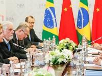 Wagner participou com Dilma de reunião com o presidente da República Popular da China, Xi Jinping
