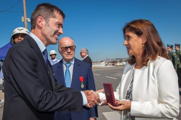 Ex-combatentes receberam a Comenda da Ordem da Legião de Honra