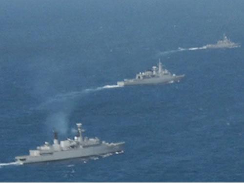 Marinha do Brasil e Armada da Argentina incrementam os laços de amizade e cooperação na Operação Fraterno