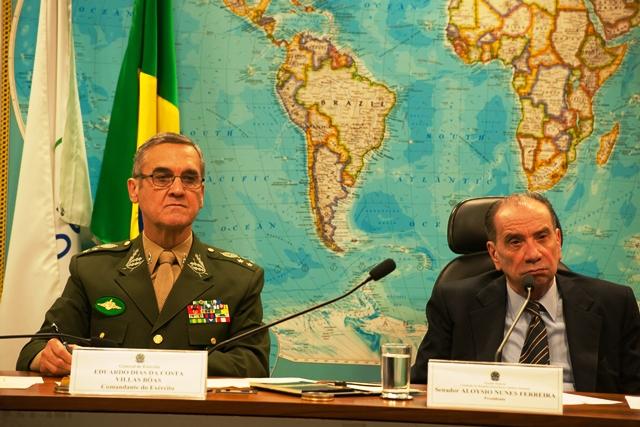 Comandante do Exército em Audiência Pública no Senado Federal