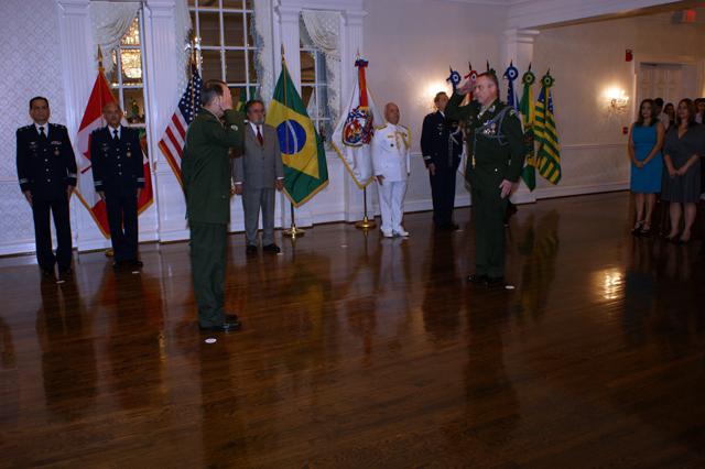 Transmissão do cargo de Adido do Exército junto às Embaixadas do Brasil nos EUA e no Canadá