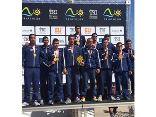 Escola Naval participa da 3ª Etapa do Campeonato Estadual de Triathlon do Rio de Janeiro