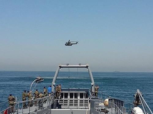 Força-Tarefa Marítima da UNIFIL participa de Exercício de Socorro e Salvamento da Marinha Libanesa
