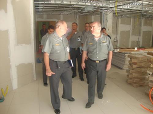 Diretoria de Obras Civis visita futuras instalações da Secretaria de Ciência, Tecnologia e Inovação