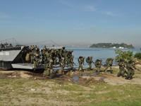 Chegada ao Complexo Naval da Ilha do Governador