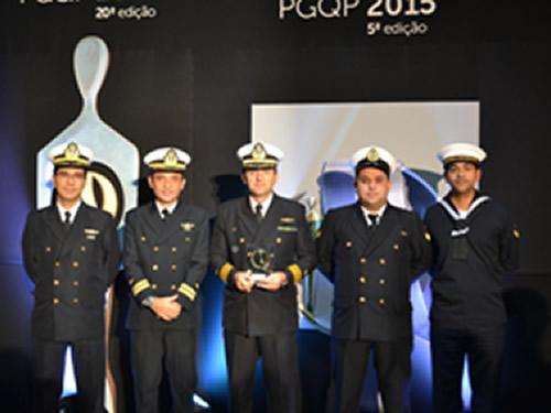 Centro de Intendência da Marinha em Rio Grande recebe prêmio no Programa Gaúcho de Qualidade e Produtividade