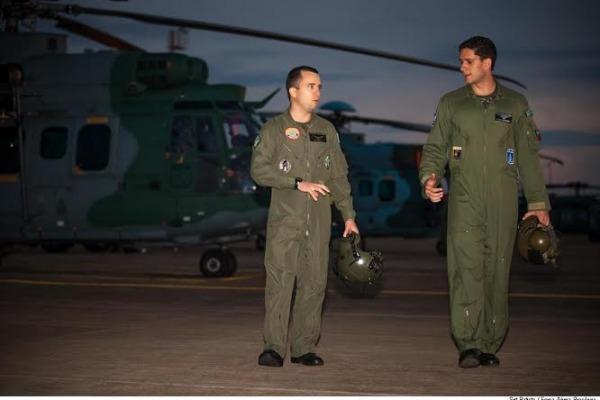 Interação entre as Forças Armadas marca exercício de resgate em combate da FAB