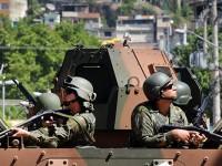 As tropas realizaram 550 apreensões de drogas e 58 de armas e 3.884 munições