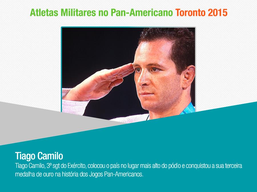 No Pan de Toronto atletas militares garantem mais quatro medalhas para o Brasil