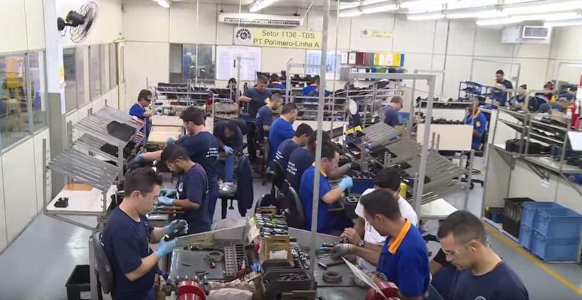 Programa FAB & Indústria de Defesa apresenta a fabricação das pistolas PT 92
