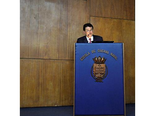 Ministro de Minas e Energia profere palestra ao Ministro de Minas e Energia